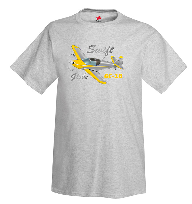 Globe/Temco Swift GC-1B Airplane T-Shirt - Personalized w/ Your N#