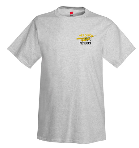 Aeronca 11ACS Chief Scout Airplane T-Shirt - Personalized with Your N#