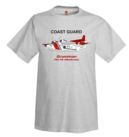 Grumman HU-16 Albatross (Red/Blue) Airplane T-Shirt - Personalized