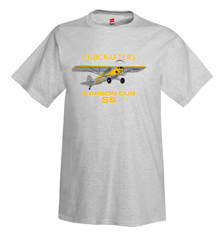 CubCrafters CC11-160 Carbon Cub SS Airplane T-Shirt - Personalized w/ Your N#