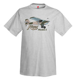 Kitfox Model 1 (Camouflage) Airplane T-Shirt - Personalized w/ Your N#