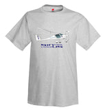 Pipistrel Sinus 912 NW Airplane T-Shirt - Personalized w/ Your N#