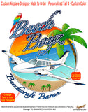 Beech Boyz Beechcraft 58 Baron (Blue #3) Airplane Theme