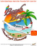 Beech Boyz Beechcraft Bonanza A36 (Orange/Red) Airplane Theme