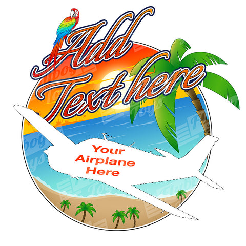 Beach Airplane Theme