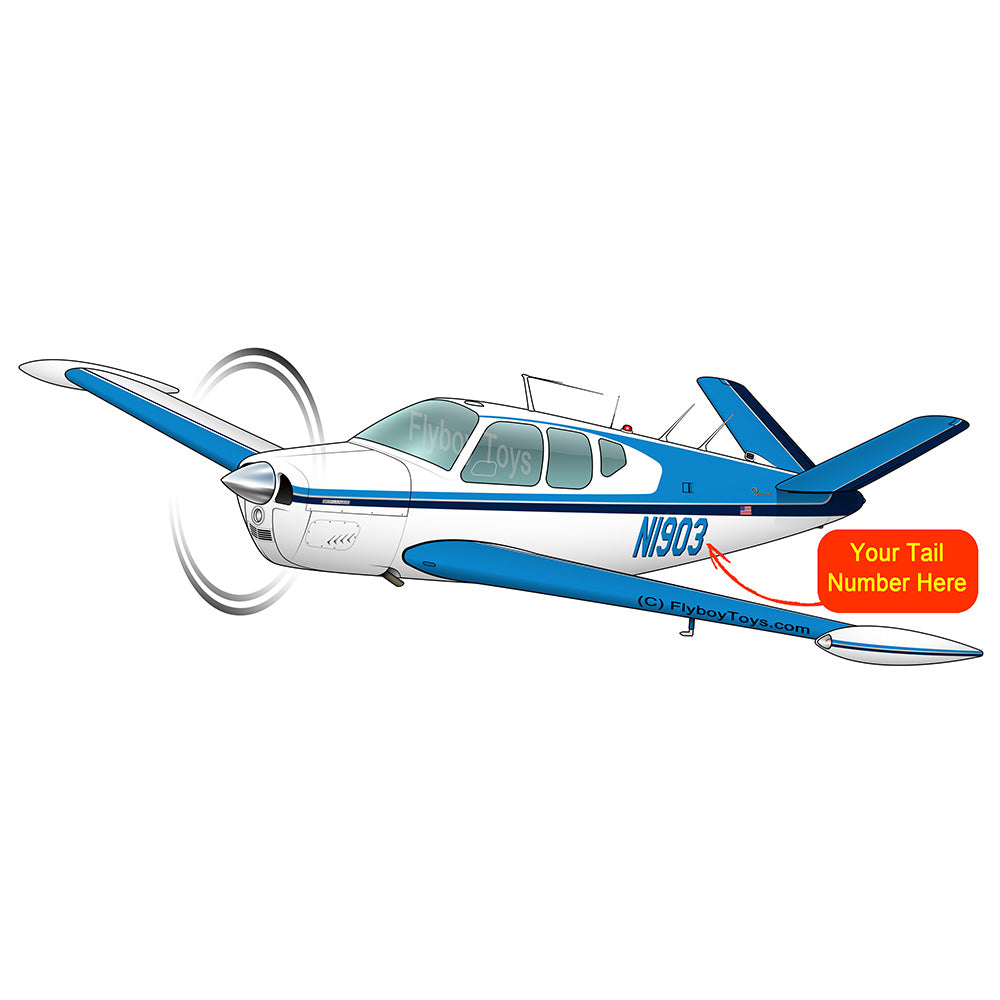 Beechcraft Bonanza V35 Blue