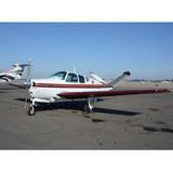 Beechcraft Bonanza M35 V-Tail (Red/Maroon) Airplane Design