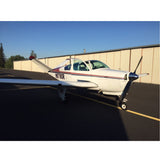 Beechcraft Bonanza M35 V-Tail (Red/Blue) Airplane Design