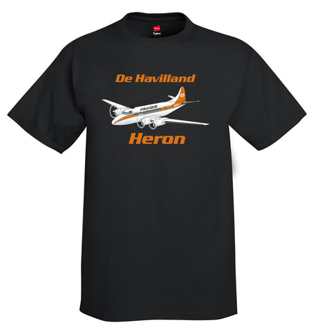 De Havilland DH-114 Heron Airplane T-Shirt - Personalized with Your N#