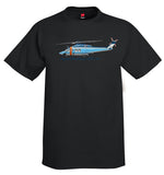 AgustaWestland AW139 Helicopter T-Shirt - Personalized with Your N#
