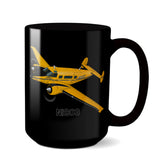 Airplane Ceramic Custom Mug AIR25518-Y2 - Personalized w/ your N#