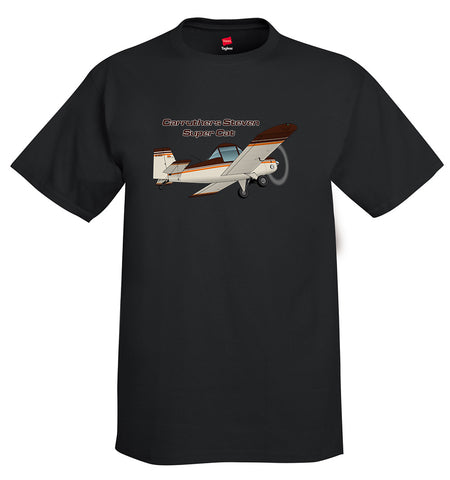 Baker Supercat (Red/Black) Airplane T-Shirt - Personalized with Your N#