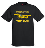 CubCrafters CC18-180 Top Cub Airplane T-Shirt - Personalized w/ Your N#