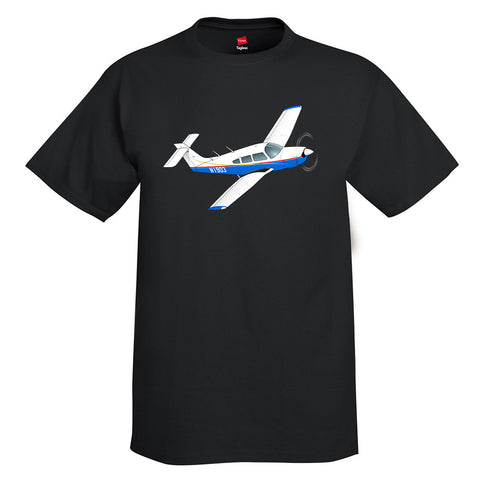 Airplane T-Shirt AIRG9G1I3IV-BRG1 - Personalized w/ Your N#