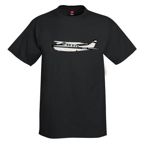 Airplane T-Shirt AIR35JJP21035EKLI9FE-BLK1 - Personalized w/ Your N#