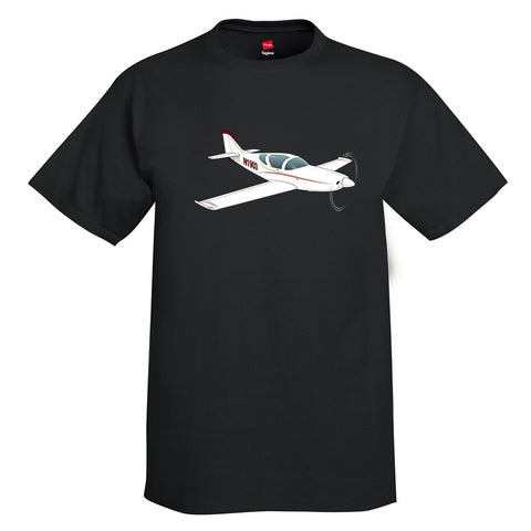 Airplane T-Shirt AIR7C1II-R1 - Personalized with Your N#