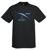 Pipistrel Spider (Blue) Ultra Light Airplane T-Shirt - Personalized