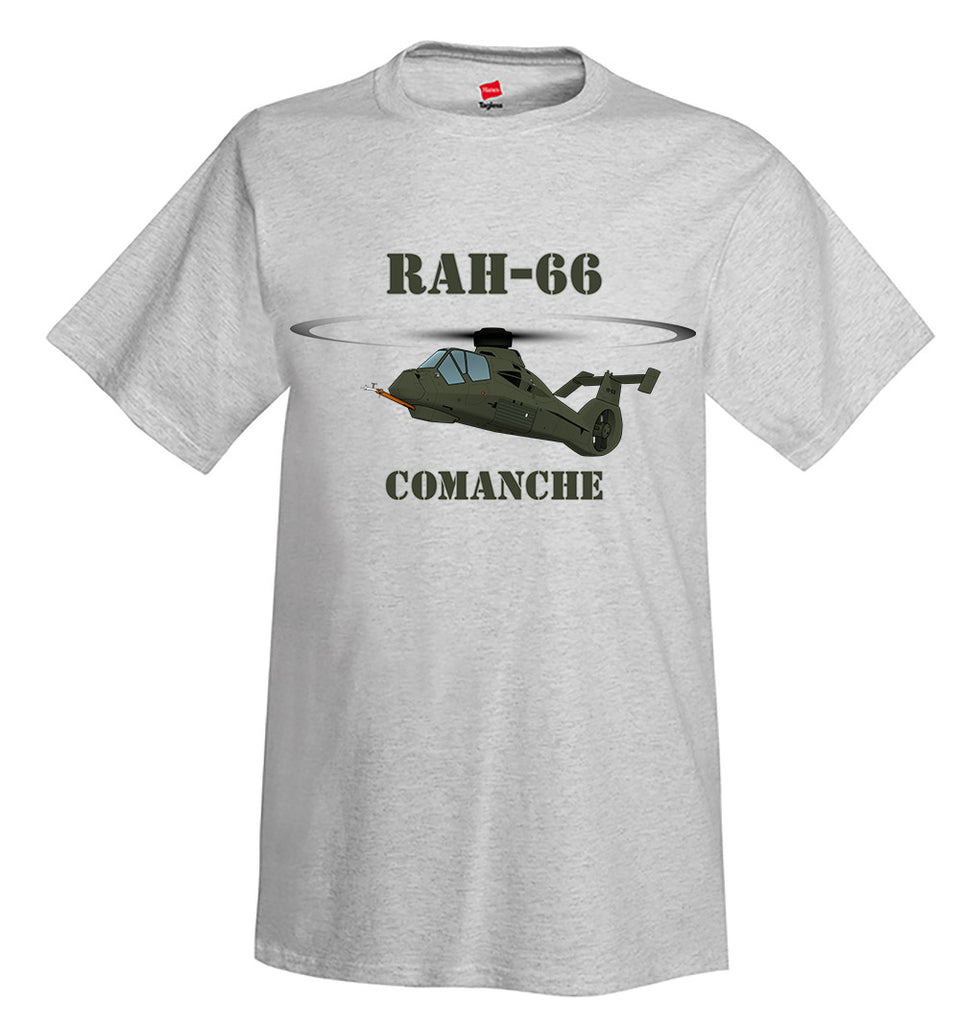 Boeing–Sikorsky RAH-66 Comanche Helicopter T-Shirt - Personalized
