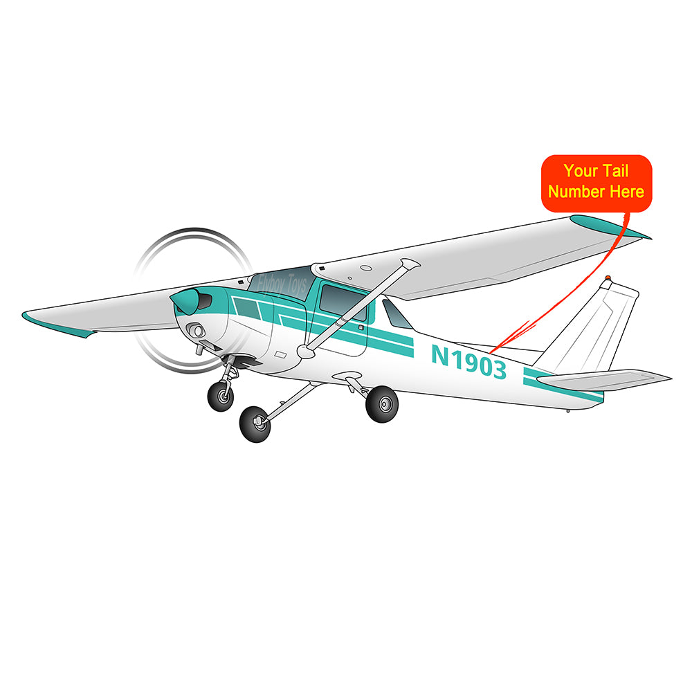 Airplane Design (Turquoise) - AIR35JJ152-T1