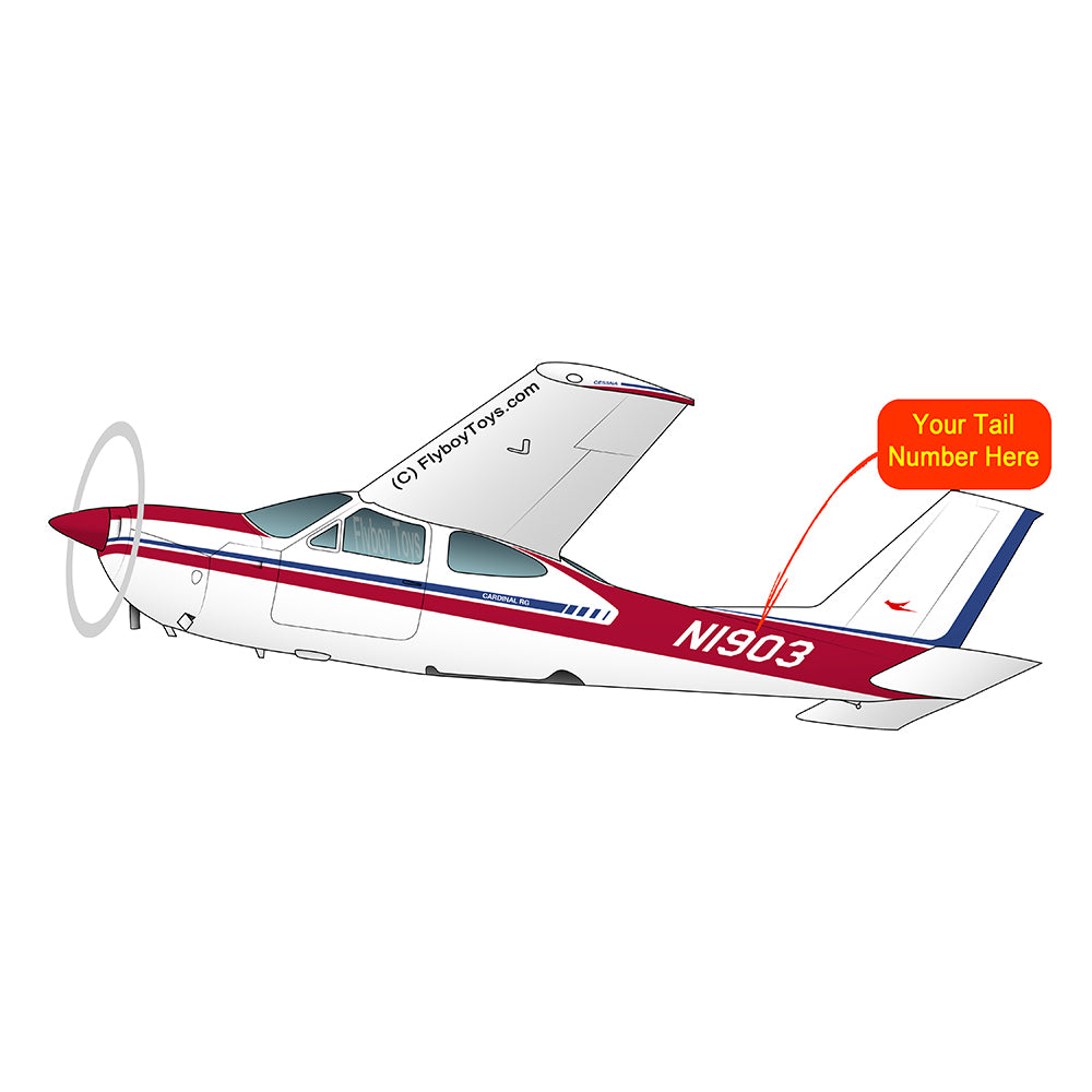 Airplane Design (Red/Blue) - AIR35JJ177I7-RB1