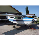 Cessna 210 Centurion (Blue) Airplane Design