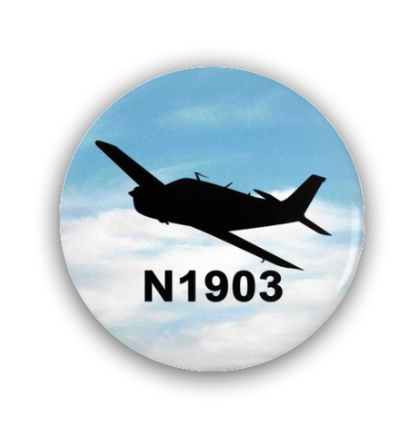 Custom Pin-Back Buttons ( Pack of 3)
