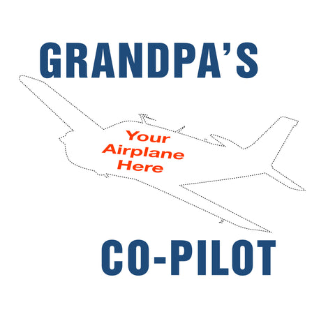 GrandPa's Co-Pilot Airplane Theme