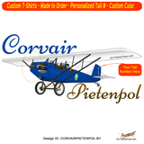 Corvair Pietenpol Air Camper Airplane T-shirt - Personalized with Your N#