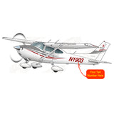 Airplane Design (Grey/Red) - AIR35JJ182-GR1