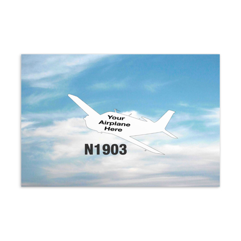 "Custom Aviation Postcards 4""x6"""