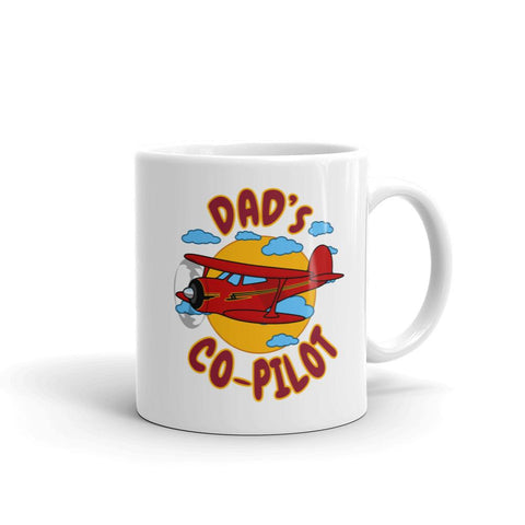 Dad's Co-Pilot Theme Mug - AIR255JK1-RB1 - Personalized w/ N#