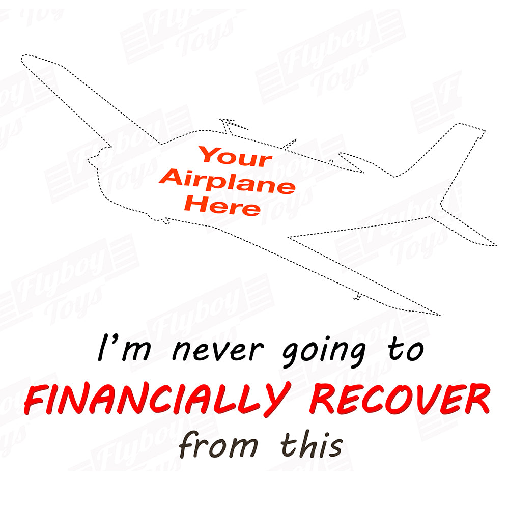 I'm Never Financially Recover Airplane Theme