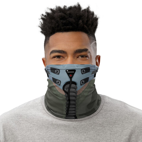 Fighter Pilot 101 Neck Gaiter - Add your N#