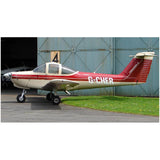 Airplane Design (Beige/Red) - AIRG9GKFD-BR1
