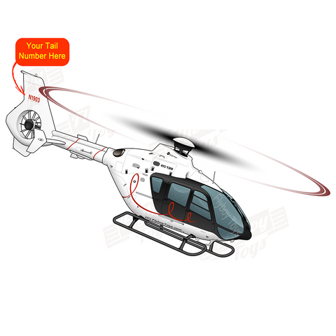 Helicopter Design (Black) - HELI5LIEC135-BLK1