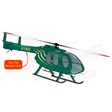 MD 500 600 600N Helicopters