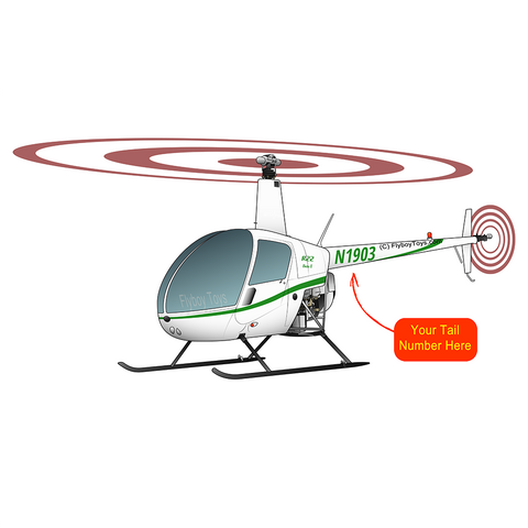 Helicopter Design (Green) - HELIIF2R22-G1