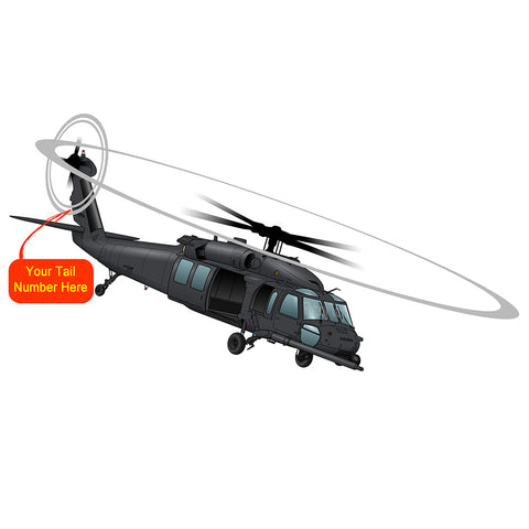 Sikorsky Aircraft HH-60 Pave Hawk Helicopter