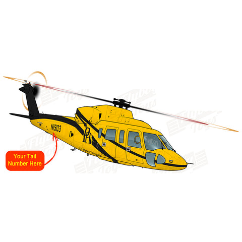 Helicopter Design (Yellow/Black) - HELIJ9BS76-YB1