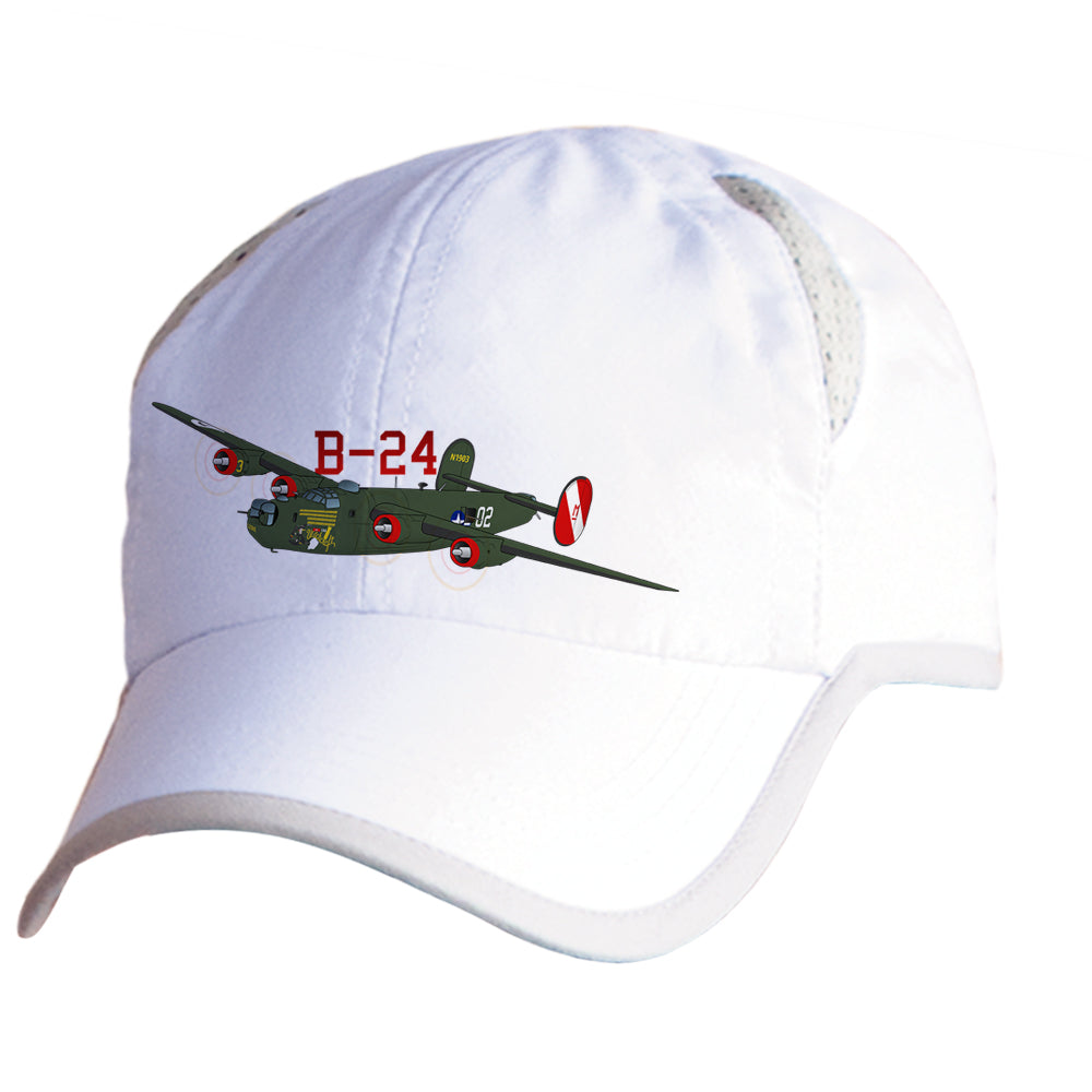 B-24 Liberator Cap Airplane Pilot Hat - Personalized with N#