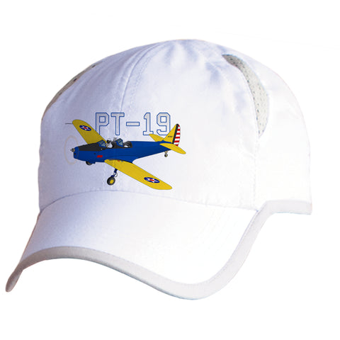 Fairchild PT-19 Airplane Pilot Hat - Personalized with N#