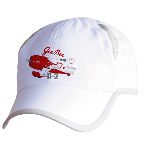 Gee Bee R-2 Airplane Pilot Hat - Personalized with N#