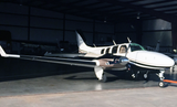 Beechcraft Baron (Black/Tan) Airplane Design