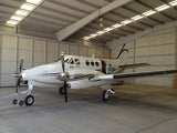 Beechcraft King Air 90 Blue Gold model