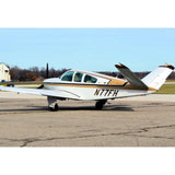 Beechcraft Bonanza V35B Black Tan 2 model 1