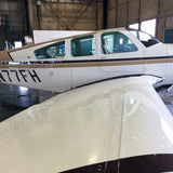 Beechcraft Bonanza V35B Black Tan 2 model 2