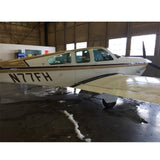 Beechcraft Bonanza V35B Black Tan 2 model 3