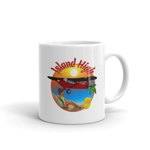 Island High Pinup Theme Mug - AIRG9GPA12-R1 - Personalized w/ N#