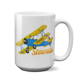 Stearman FSX1 Airplane Ceramic Mug - Personalized w/ N#