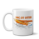 De Havilland DHC-3T Otter Airplane Ceramic Mug - Personalized w/ N#